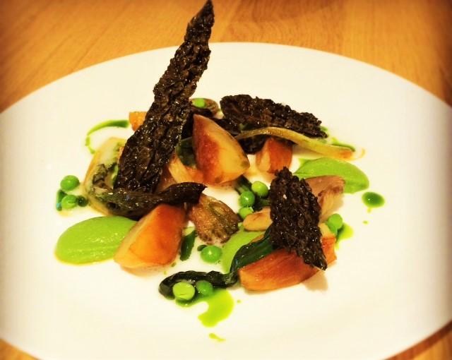 Braised artichoke